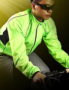 levne Cyklistické dresy-Nuckily Pánské Cyklo bunda Jezdit na kole sako / Větrovky / Pláštěnka Voděodolný, Rychleschnoucí, Větruvzdorné Patchwork Polyester