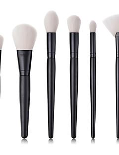 billiga Sminkborstar-6-Pack Makeupborstar Professionell Borstsatser Nylon fiber Miljövänlig / Mjuk Trä / Bambu