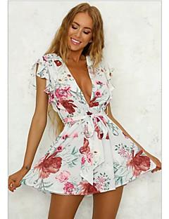 baratos Vestidos de Festa-Mulheres Para Noite Delgado Bainha Vestido Decote em V Profundo Cintura Alta Mini