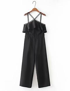 billige Jumpsuits og sparkebukser til damer-Dame Bohem Kjeledresser - Ensfarget, Drapering