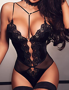 Women in see through lingerie busty
