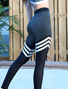 cheap Fitness, Running & Yoga Clothing-Women's Yoga Pants - Black Sports Tights / Leggings Activewear Moisture Wicking, Breathability Stretchy