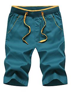 tanie Odzież turystyczna-Męskie Spodenki turystyczne Na wolnym powietrzu Anatomiczny kształt, Oddychalność, Elastyczny Spodnie Ćwiczenia na zewnątrz