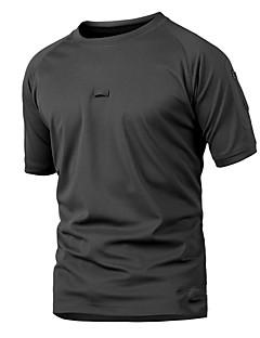 tanie Koszulki turystyczne-Męskie T-shirt turystyczny Na wolnym powietrzu Szybkie wysychanie, Zdatny do noszenia, Oddychalność T-shirt Nie dotyczy Kemping i turystyka / Ćwiczenia na zewnątrz / Multisport
