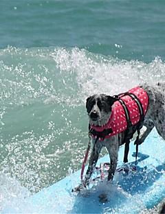 billiga Hundkläder-Gnagare / Hund / Kaniner Livväst Hundkläder Enkel / Andra Fuchsia / Grön / Blå 100% Polyester Kostym För husdjur Dam Sport och utomhus / Hög kvalitet