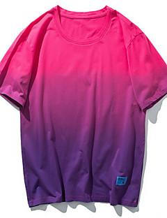 billige Herremote og klær-Rund hals T-skjorte Herre - Ensfarget / Kortermet