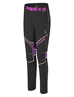 baratos Calças e Shorts para Trilhas-Mulheres Calças de Trilha Ao ar livre Leve, Secagem Rápida, Respirabilidade Elastano Calças Equitação / Exercicio Exterior