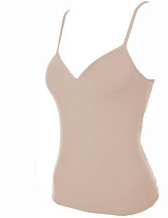 billige Tanktoppe & små toppe til kvinder-Med stropper Dame - Ensfarvet I-byen-tøj Tank Tops