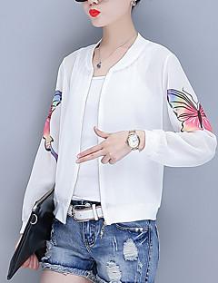 Χαμηλού Κόστους Bomber Jackets-Γυναικεία Σακάκι Κομψό στυλ street - Contemporary