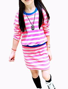 זול שמלות תחרה לבנות-בנות בסיסי מכנסיים - אחיד שחור
