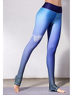 baratos Leggings para Mulheres-Mulheres Esportivo Legging - Sólido Cintura Alta