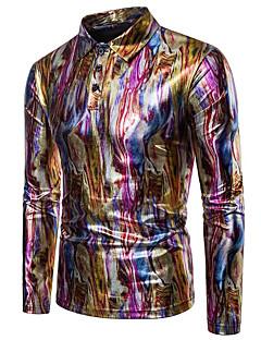 billige Herremote og klær-Polo Herre - Regnbue, Lapper Aktiv