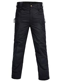billige Herrebukser og -shorts-Herre Bomull Dressbukser Bukser Ensfarget