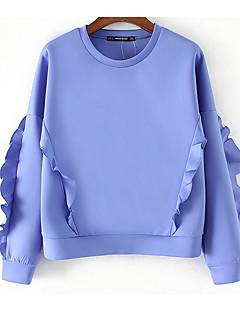 tanie Damskie bluzy z kapturem-Damskie Podstawowy Bluza dresowa - Solidne kolory