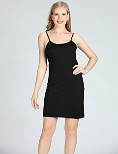 Χαμηλού Κόστους Γυναικείες Μπλούζες-Γυναικεία Αμάνικη Μπλούζα Μονόχρωμο Τιράντες Λεπτό / Άνοιξη