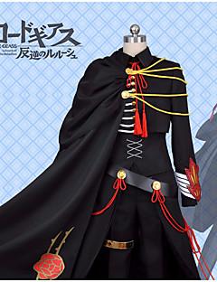 """billige Anime Kostymer-Inspirert av Kode Gease Lelouch Lamperouge Anime  """"Cosplay-kostymer"""" Cosplay Klær Med Tekstur Frakk / Genser / Bukser Til Herre Halloween-kostymer"""