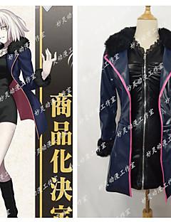 """billige Anime cosplay-Inspirert av Skjebne / Grand Order Saber / Jeanne d'Arc Anime  """"Cosplay-kostymer"""" Cosplay Klær Animé / Sexy Kostume Til Dame"""