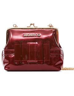 billiga Lolitaaccessoarer-väska väska Stilig Elegant Dam Röd / Kristall / Brun lolita tillbehör Ensfärgat Vintage Väska PU-läder / Polyuretan Läder Halloweenkostymer