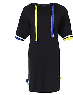 Χαμηλού Κόστους SHYSLILY-Γυναικεία Εξόδου Λεπτό T Shirt Φόρεμα Μίντι