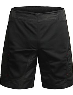 billige Sykkelklær-Jaggad Dame Fôrede sykkelshorts Sykkel Shorts / Hengende Shorts / MTB-shorts Pustende, 3D Pute Ensfarget, Rutet Polyester Svart Sykkelklær