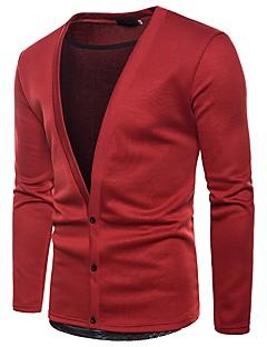 baratos Suéteres & Cardigans Masculinos-Homens Carregam - Sólido, Renda