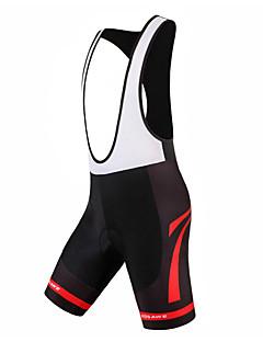 billige Sykkelklær-WOSAWE Unisex Shorts med seler til sykning Sykkel Sykkelshorts Med Seler / Bunner Vanntett, 3D Pute, Pustende Klassisk Polyester, Spandex
