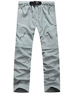 tanie Turystyczne spodnie i szorty-Męskie Spodnie turystyczne Na wolnym powietrzu Szybkie wysychanie, Oddychalność, Odporny na UV Spodnie Piesze wycieczki / Wspinaczka / Ćwiczenia na zewnątrz