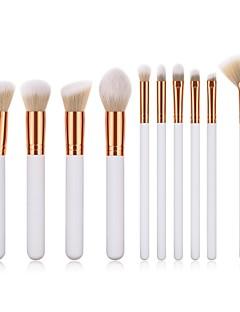 billiga Sminkborstar-1 st Makeupborstar Professionell Rougeborste / Ögonskuggsborste / Läppensel Nylon fiber Fullständig Täckning Trä / Bambu