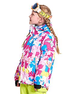 billiga Skid- och snowboardkläder-Wild Snow Pojkar / Flickor Skidjacka Vindtät, Varm, Ventilerande Skidåkning / Multisport / Vintersport Polyester, Mesh Dunjackor Skidkläder