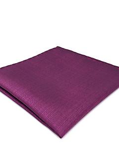 billige Herrers Mode Beklædning-Herre Kontor / Basale Pocket Squares Ensfarvet / Jacquard Vævning