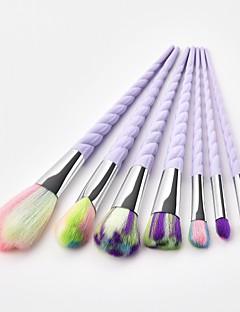billiga Sminkborstar-7pcs Makeupborstar Professionell Rougeborste / Ögonskuggsborste / Läppensel Nylon fiber Fullständig Täckning