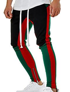 billige Herrebukser og -shorts-Herre Grunnleggende Chinos Bukser Fargeblokk