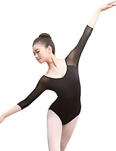 billige Ballettantrekk-Ballet Trikoter Dame Trening / Ytelse Elastan / Lycra Kombinasjon 3/4 ermer Trikot / Heldraktskostymer
