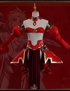 """billige Anime cosplay-Inspirert av Skjebne / Grand Order Mordred Anime  """"Cosplay-kostymer"""" Cosplay Klær Art Deco / Nyhet Skjørte / Korsett / Kappe Til Unisex"""