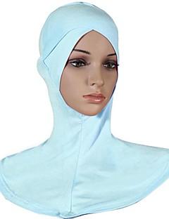 billige Bikinier og damemote 2017-Dame Vintage Hijab - Kryss, Ensfarget