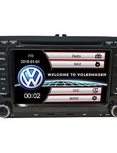 Χαμηλού Κόστους Αυτοκίνητα-520WGNR04 7 inch 2 Din Windows CE In-Dash DVD Player GPS / Οθόνη Αφής / Ενσωματωμένο Bluetooth για Volkswagen Υποστήριξη / Έλεγχος Τιμονιού / Έξοδος subwoofer / Παιχνίδια / Υποστήριξη SD / USB
