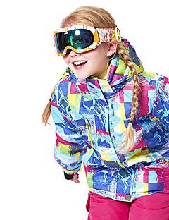 billiga Skid- och snowboardkläder-Flickor / Pojkar Skidjacka Varm, Ventilerande, Vindtät Skidåkning / Multisport / Vintersport Polyester, Mesh Dunjackor Skidkläder