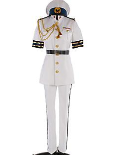 """billige Anime Kostymer-Inspirert av Gratis! Rei Ryuzaki Anime  """"Cosplay-kostymer"""" Cosplay Klær Ensfarget / Enkel Topp / Bukser / Mer Tilbehør Til Herre / Dame"""