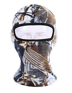 billige Sykkelklær-Ansiktsmaske Alle årstider Fukt Wicking / Fort Tørring / Pusteevne Utendørs Trening Alle Polyester Taft Planter / Mikroelastisk / UV-bestandig