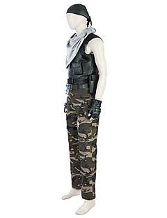 """billige Videospill cosplay-Inspirert av Fate / zero Soldat / Kriger video Spill  """"Cosplay-kostymer"""" Cosplay Topper / Underdele Mote / Lolita Ermeløs Topp / Bukser Halloween-kostymer"""