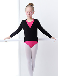 billige Danseklær til barn-Ballet Topper Jente Trening / Ytelse Akryl Strikk Langermet Topp