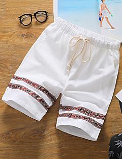 billige Herrebukser og -shorts-Herre Gatemote Chinos / Shorts Bukser Stripet
