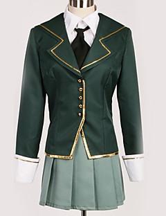 """billige Anime cosplay-Inspirert av Haganai Cosplay Anime  """"Cosplay-kostymer"""" Cosplay Klær Britisk Frakk / Genser / Topp Til Herre / Dame"""