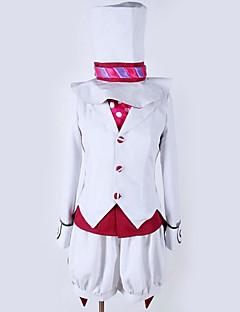 """billige Anime cosplay-Inspirert av Blå Eksorsist Cosplay Anime  """"Cosplay-kostymer"""" Cosplay Klær Spesielt design Topp / Kappe / Shorts Til Herre / Dame"""
