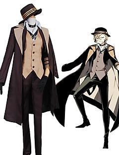 """billige Anime Kostymer-Inspirert av Bungo Stray Dogs Cosplay Anime  """"Cosplay-kostymer"""" Cosplay Klær Moderne Frakk / Vest / Genser Til Herre / Dame"""