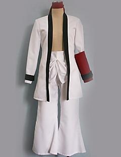 """billige Anime Kostymer-Inspirert av RurouniKenshin Cosplay Anime  """"Cosplay-kostymer"""" Cosplay Klær Ensfarget Topp / Bukser / Mer Tilbehør Til Herre / Dame"""