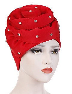 cheap Women's Hats-Women's Vintage / Party / Holiday Floppy Hat - Solid Colored