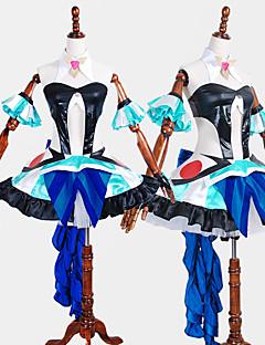 """billige Anime Kostymer-Inspirert av Programmene Frontier Cosplay Anime  """"Cosplay-kostymer"""" Cosplay Klær Flerfarget Kjole / Sløyfe / Mer Tilbehør Til Herre / Dame"""