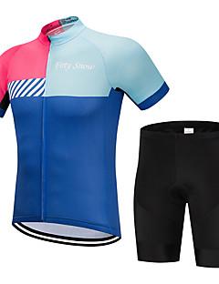 ... ποδηλασίας - Μπλε+Ροζ Ριγέ Ποδήλατο Σετ Ρούχων Αναπνέει Γρήγορο  Στέγνωμα Αθλητισμός Πολυεστέρας Ριγέ Ποδηλασία Βουνού Ποδηλασία Δρόμου Ρούχα    Ελαστικό 8a329d9e20f