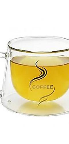 cheap -Drinkware Coffee Mug High Boron Glass Heat-Insulated / Boyfriend Gift / Girlfriend Gift Office / Career / Casual / Daily
